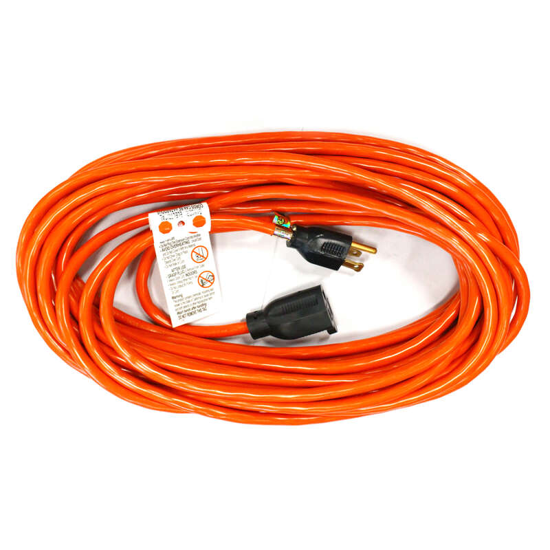 Ace  Indoor and Outdoor  100 ft. L Orange  Extension Cord  16/3 SJTW