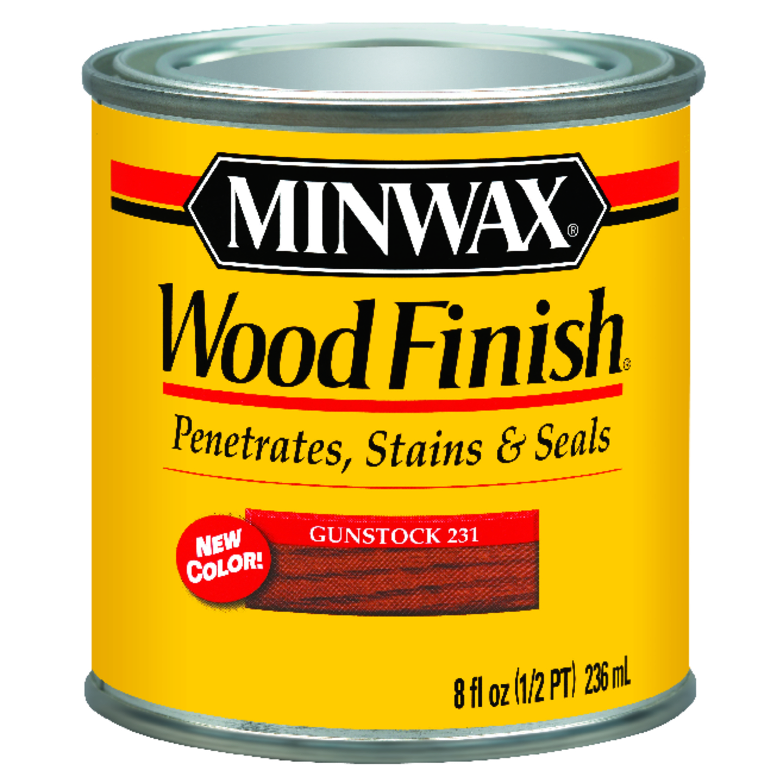 Minwax Wood Finish Transparent Gunstock Oil Based Wood Stain ...