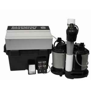 Wayne  Basement Guardian  1/2 hp 5100 gph Cast Iron  Submersible Backup Sump Pump
