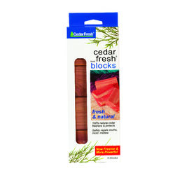 Household Essentials Natural Cedar Scent Odor Eliminator 2.75 in. Wood