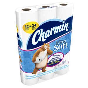 Charmin  Ultra Soft  Toilet Paper  12 roll 154 sheet