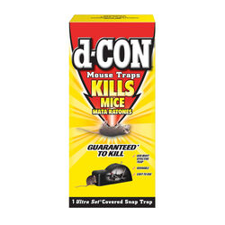 D-Con Ultra Set Covered Snap Trap For Mice 1 pk