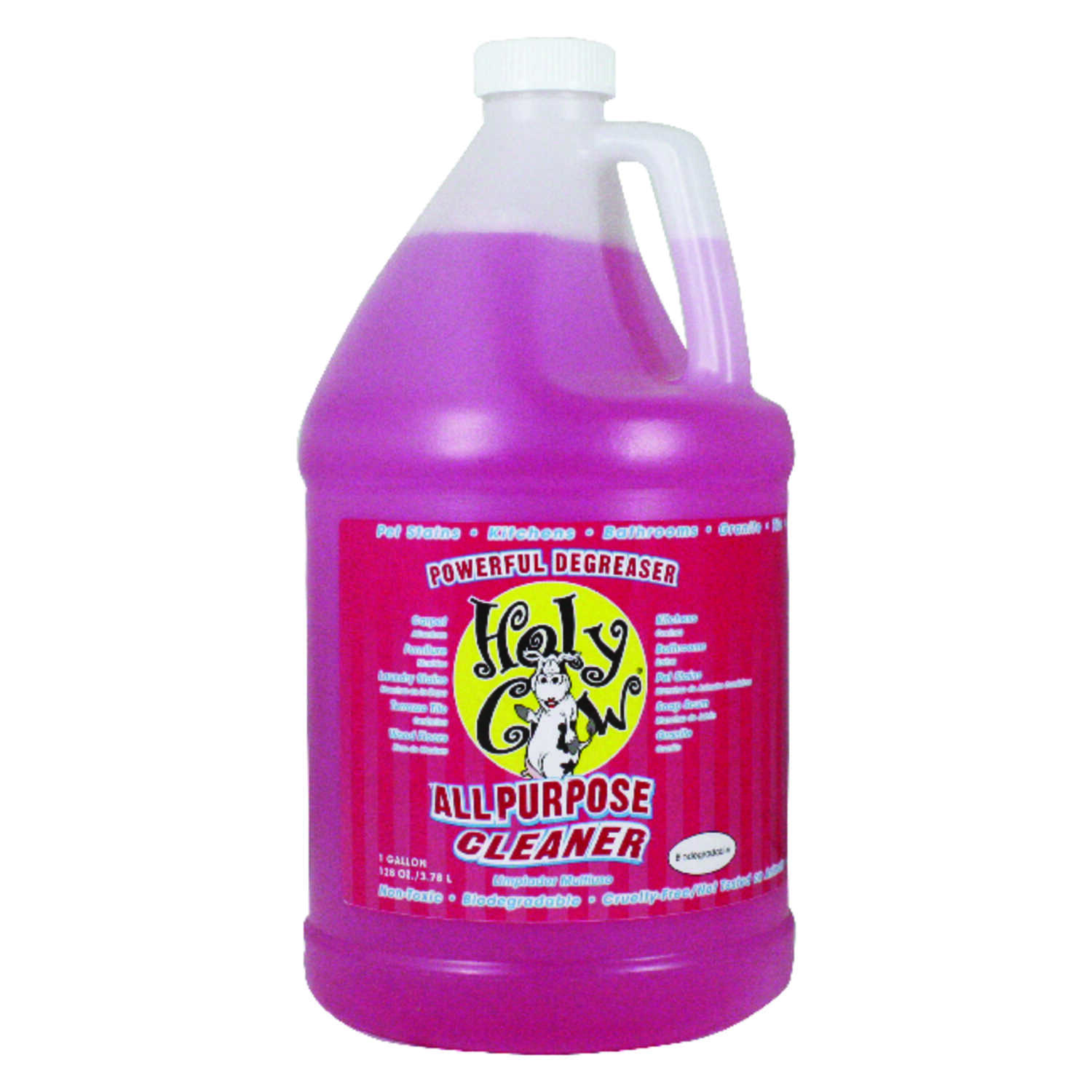 Holy Cow  Fresh Scent All Purpose Cleaner  1 gal. Liquid