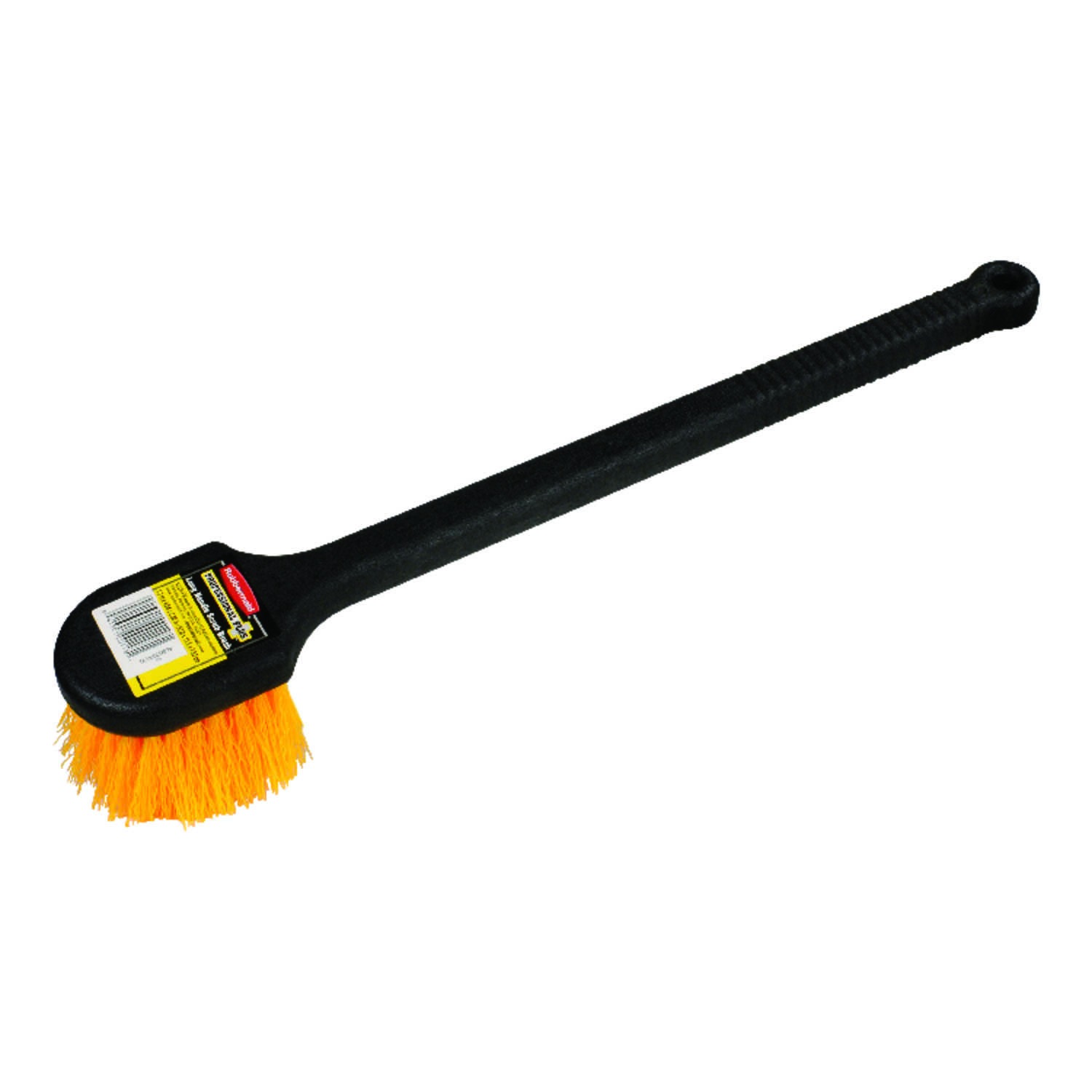 Rubbermaid  Long Handle  3-1/2 in. W Plastic  Scrub Brush