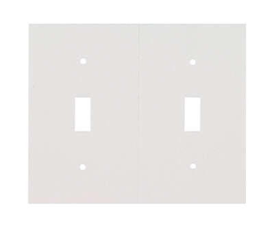 M-D  White  Foam  Toggle  Wall Plate Sealers  1 pk