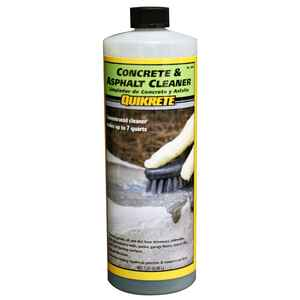Quikrete  Concrete Cleaner  1 qt. Liquid