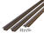 M-D  Bronze  Foam/Vinyl  Weatherstrip  For Door Jambs 36 and 84 in. L x 1 in.