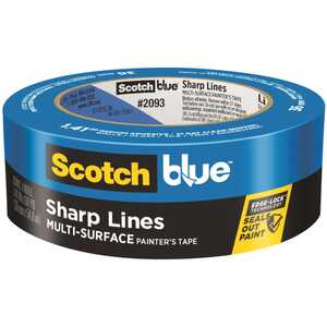 3M  Scotch Blue  1.41 in. W x 60 yd. L Blue  1 pk Painter's Tape  Medium Strength