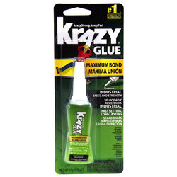 Krazy Glue  Super Strength  Polyvinyl acetate homopolymer  Glue  0.52 oz.