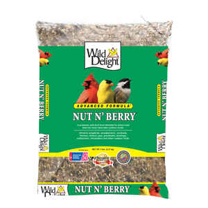 Wild Delight  Nut N Berry  Assorted Species  Wild Bird Food  Sunflower Kernels  5 lb.