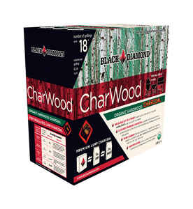 Black Diamond  CharWood  Hardwood  Lump Charcoal  0.88 cu. ft.