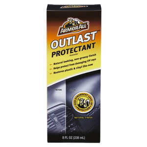 Armor All  Outlast  Plastic/Vinyl  Protectant  8 oz. Boxed