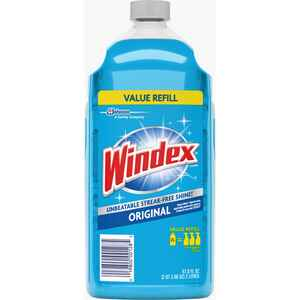 Windex  Original  No Scent Glass Cleaner Refill  67.6 oz. Liquid