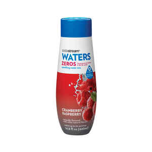 Sodastream  Waters Zeros  Cranberry Raspberry  Sparkling Water Mix  14.8 oz. 1 pk