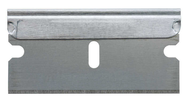 Stanley  1-1/2 in. L x 0.009 in.  High Carbon Steel  Razor Blade  10 pk Utility