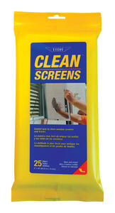 Ettore  Screen Cleaner  25 pk Wipes