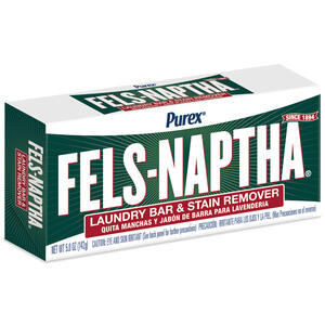 Purex  Fels-Naptha  Fresh Scent Laundry Stain Remover  Bar  5 oz.