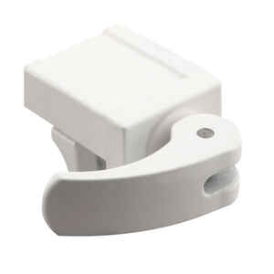 Prime-Line  Painted  White  Die-Cast Zinc  Window Lock  1 pk