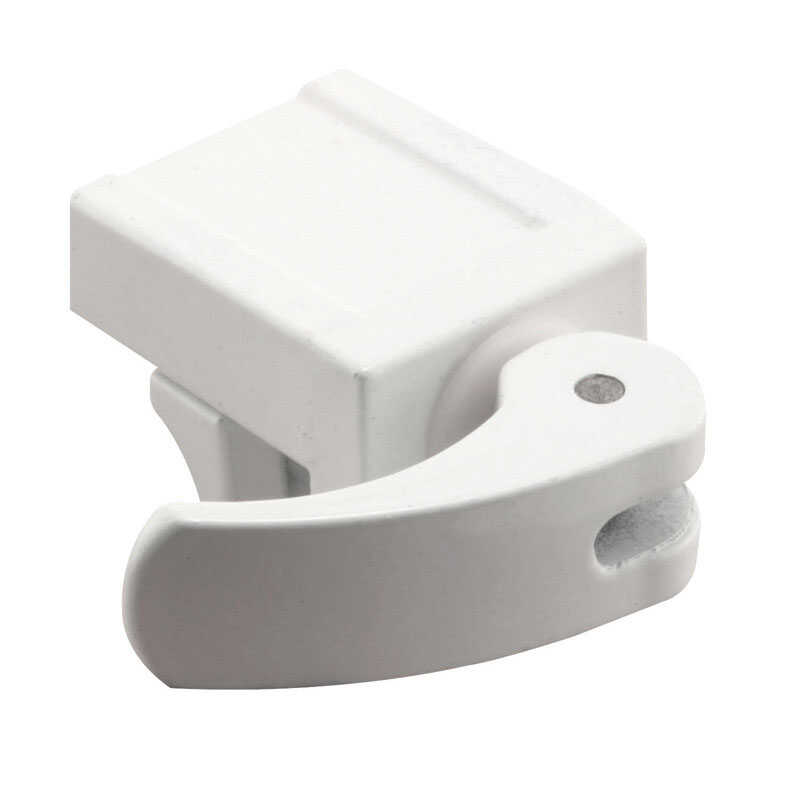 Prime-Line  White  Die-Cast Zinc  2 pk Window Lock