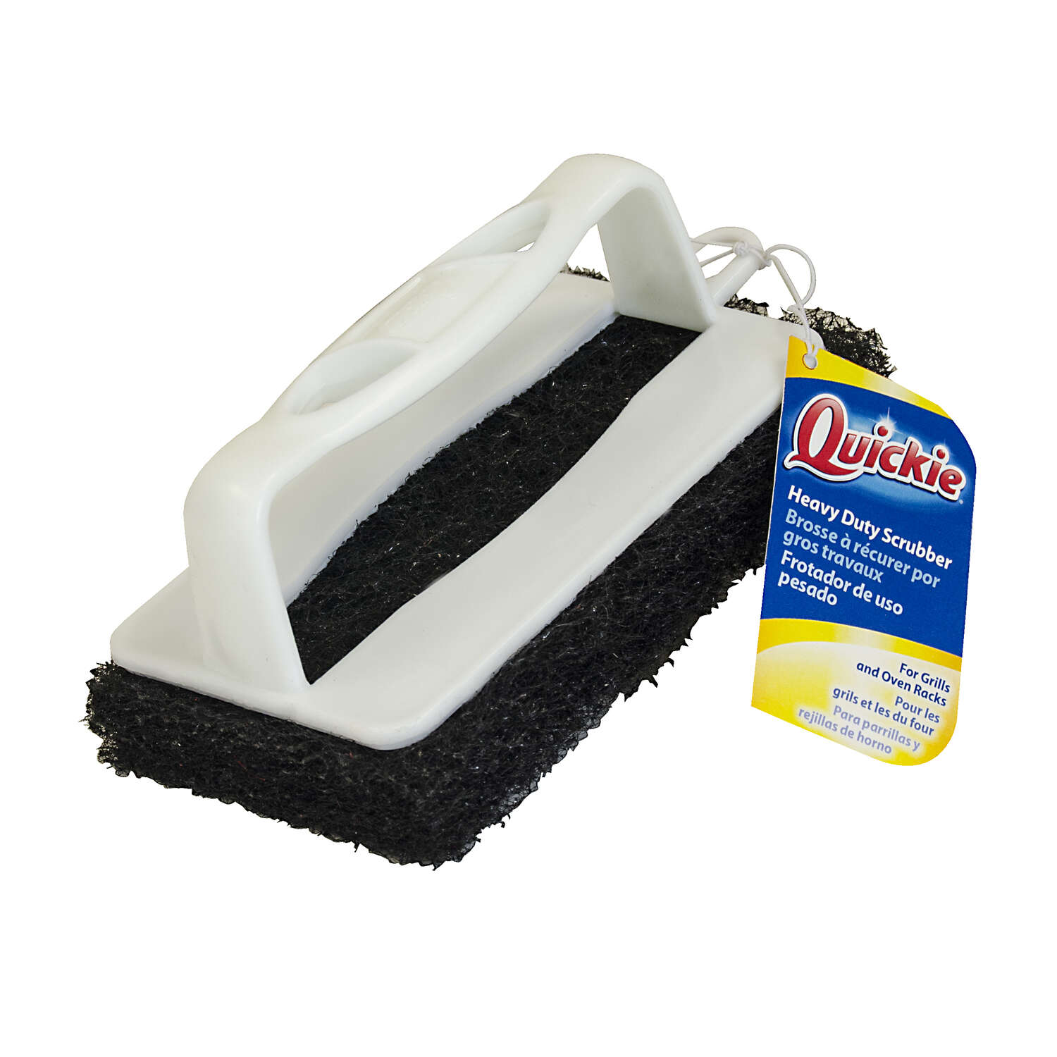 Quickie 3.5 in. W Plastic Scrub Brush