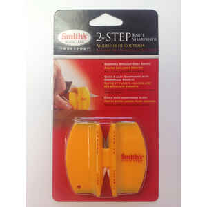 Smith's  Double-Sided Sharpener  Carbide/Ceramic  1,500 Grit 1 pc.