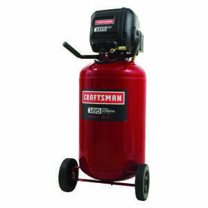 Craftsman  33 gal. Vertical  Portable Air Compressor  165 psi 1.7 hp