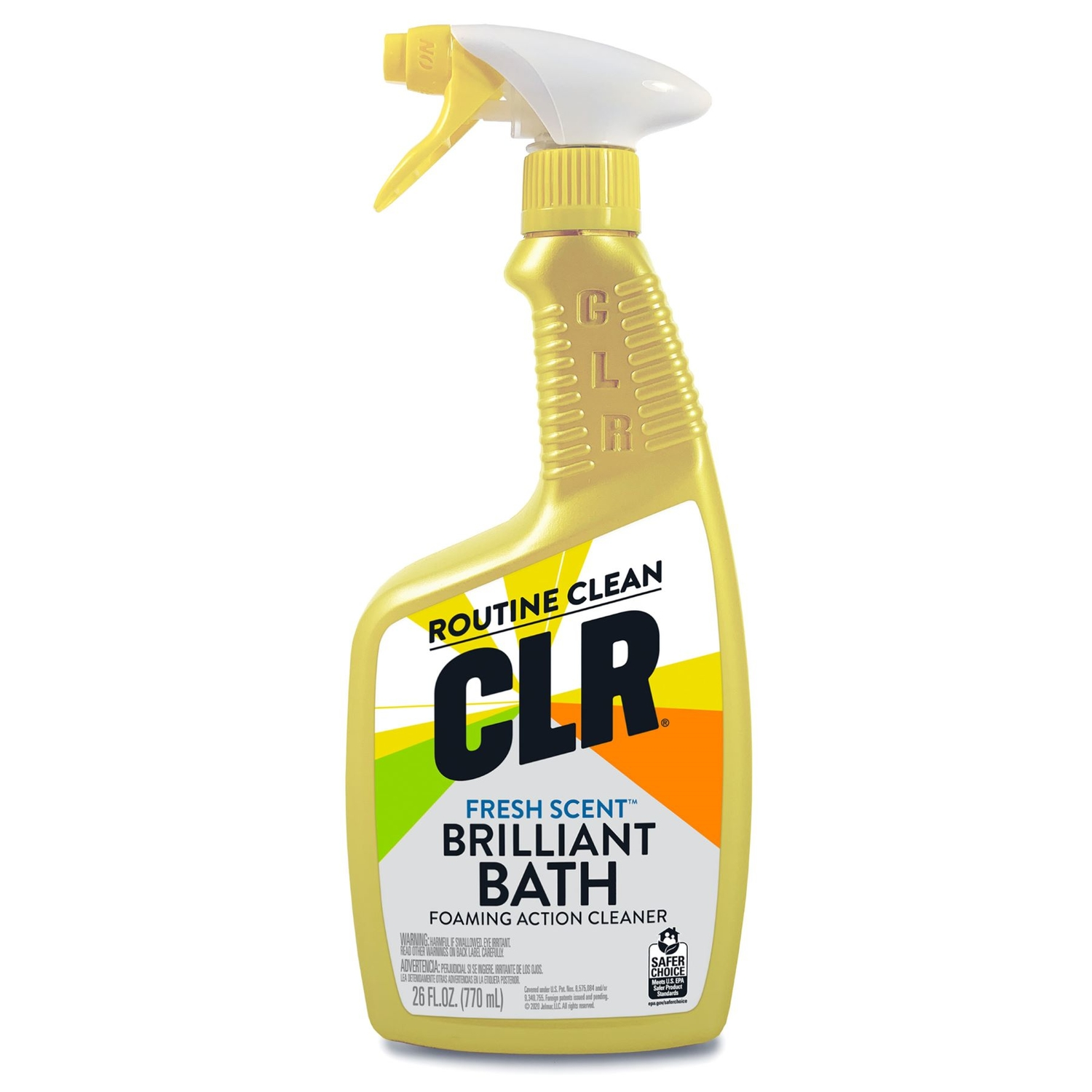 CLR No Scent MultiSurface Bathroom Cleaner Ounce Spray Ace - Kitchen and bathroom cleaner