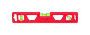 Ace  9 in. Plastic  Torpedo  Level  3 vial