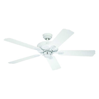 Westinghouse  Willow Breeze  52 in. White  Indoor  Ceiling Fan