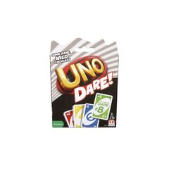 Mattel Games  UNO Dare  Card Game  Multicolored
