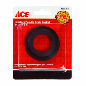 Ace  Rubber  1-1/4 inch  Dia. x 2-3/8 inch  Dia. Basin Mack Gasket