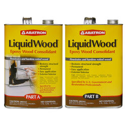 Abatron LiquidWood Clear Epoxy Wood Consolidant Kit 2 gal.