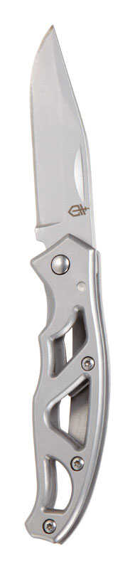 Gerber  Paraframe Mini  Silver  High Carbon Stainless Steel  6 in. Knife
