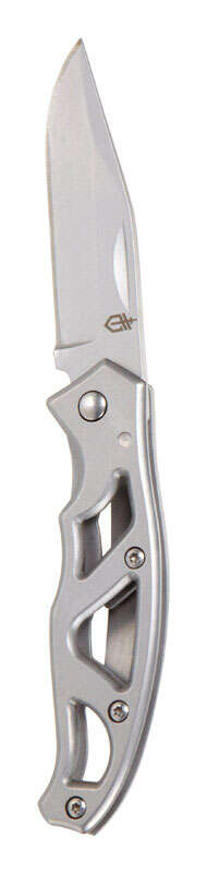 Gerber  Paraframe Mini  Silver  High Carbon Stainless Steel  5.25 in. Knife