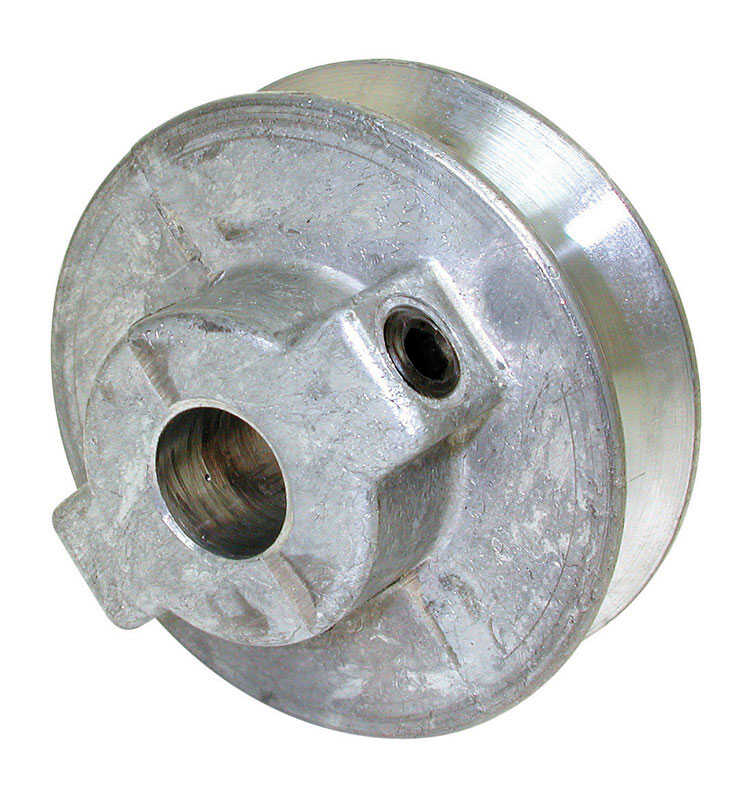 Dial  Steel  Silver  Fixed Motor Pulley