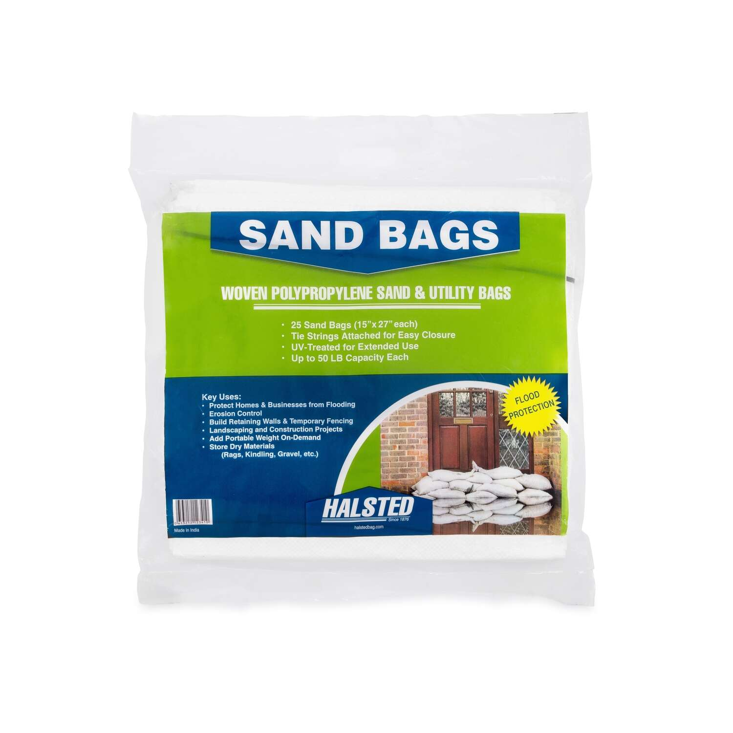 Halsted  White  Sand & Utility Bags  15 in. x 27 in.