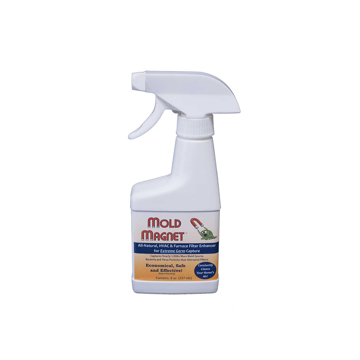 Healthful Home  HVAC and Furnace Mold and Mildew Remover  8 OZ