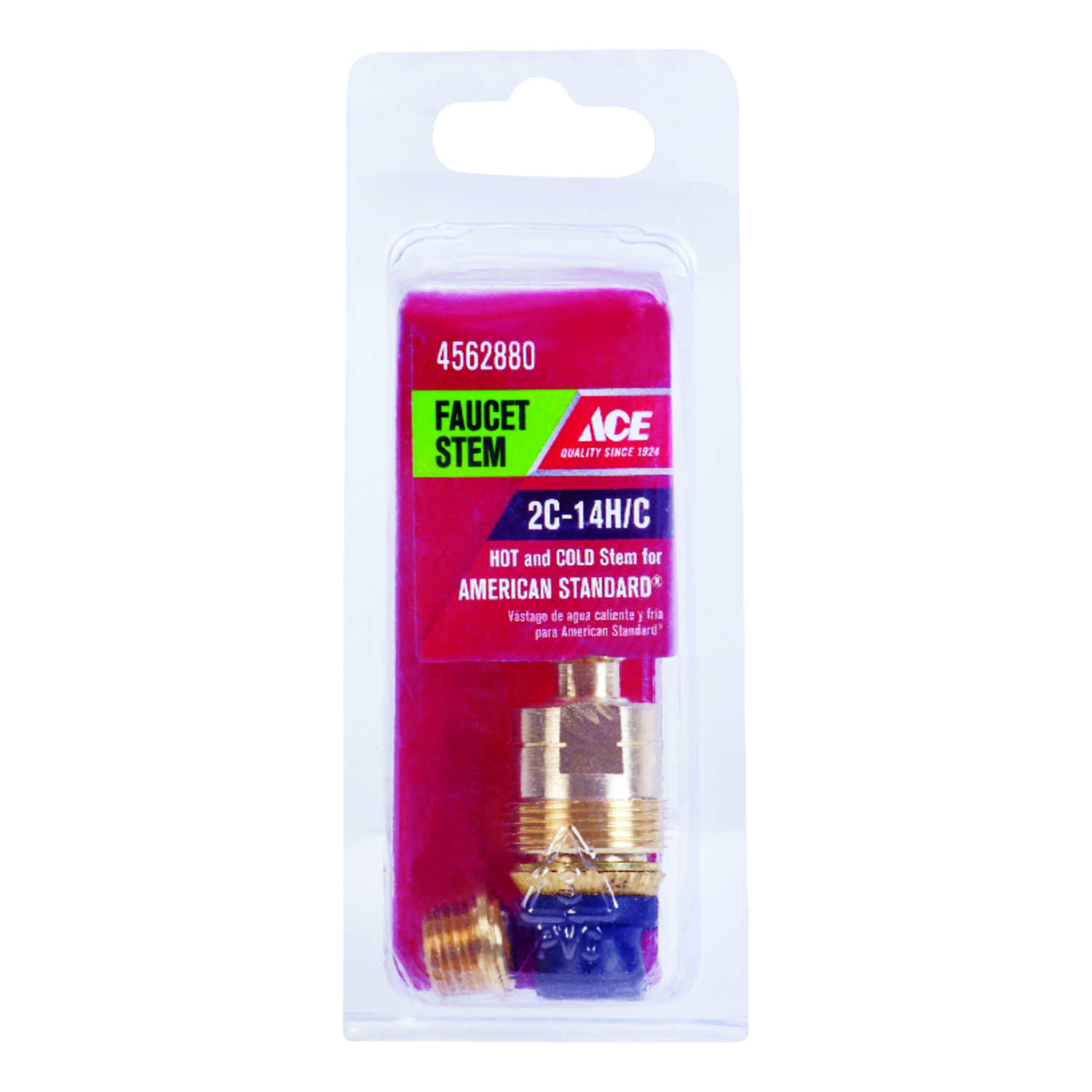 Ace  Hot and Cold  2C-14H/C  Faucet Stem  For American Standard
