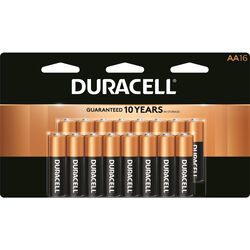 Duracell  Coppertop  AA  Alkaline  Batteries  16 pk Carded