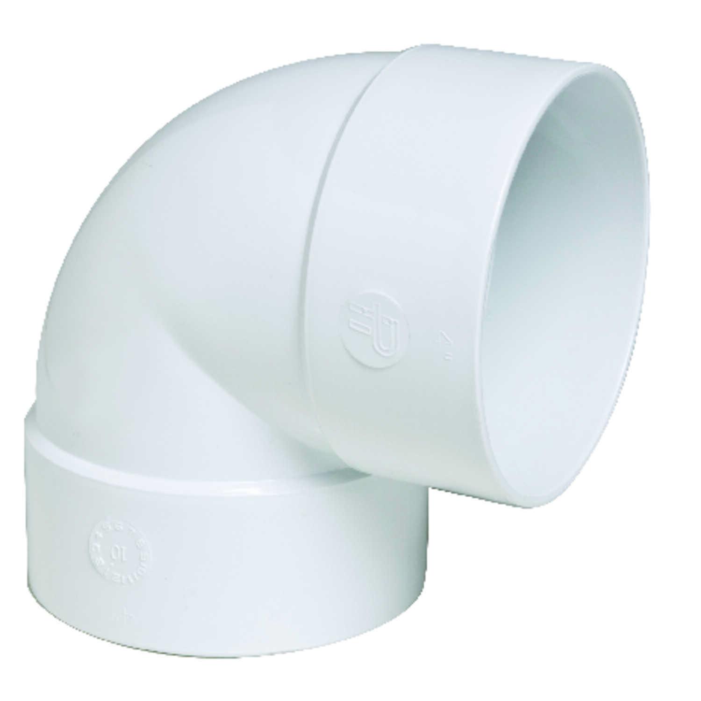 Plastic Trends SDR35/3034 4 In. Hub X 4 In. Dia. Hub PVC