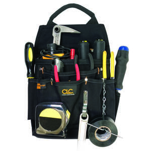 CLC Work Gear  4 in. W x 14.25 in. H Ballistic Nylon  Tool Pouch  Black  1 pc.