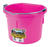 Little Giant  8 qt. Bucket  Pink