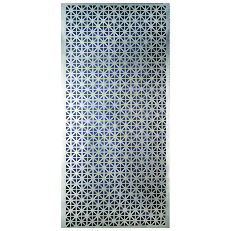 M-D Building Products  0.02 in.  x 1 ft. W x 2 ft. L Aluminum  Union Jack  Sheet Metal