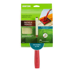Shur-Line  6.5 in. W Staining Pad  For Flat Surfaces