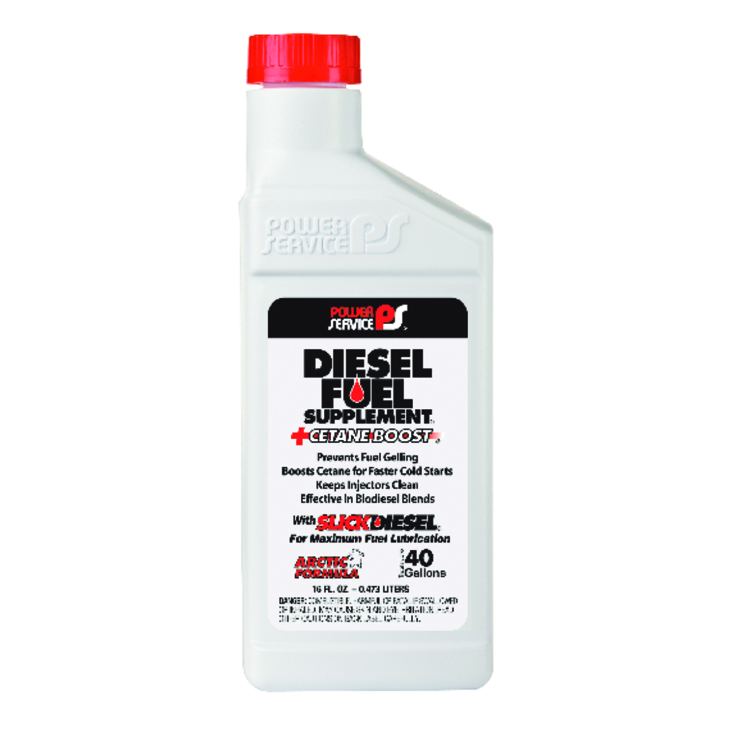 Power Service  Diesel Fuel Supplement  Diesel  Fuel Treatment  16 oz.