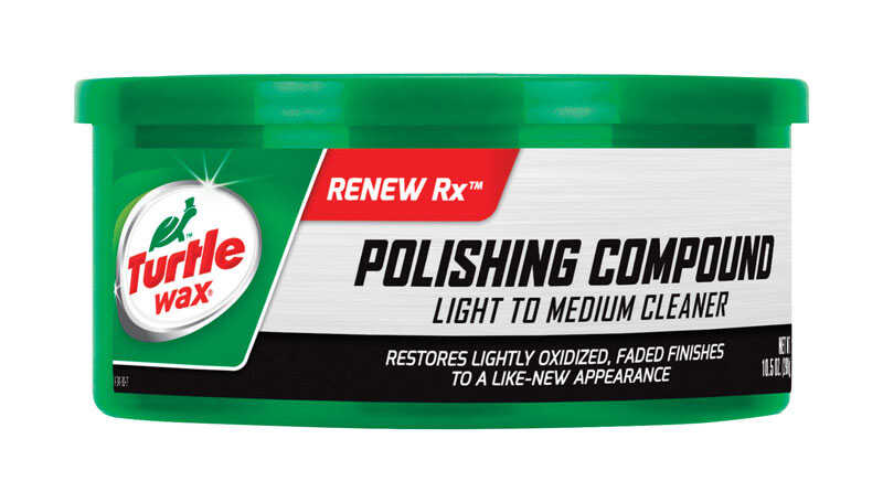 Turtle Wax  Polishing Compound  Paste  Automobile Polish  10.5 oz. For All Finishes