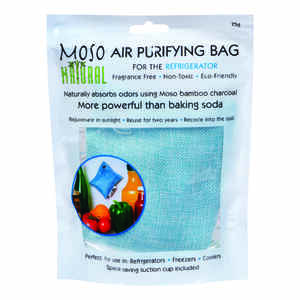 Moso Natural  No Scent Air Purifying Bag  75 gm Powder
