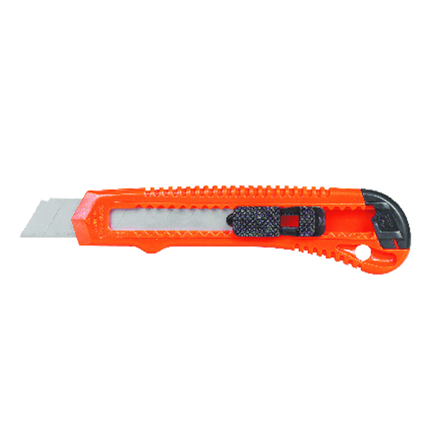 Ace  5.5 in. Sliding  Utility Knife With Blade Snapper  Orange  1 pc.