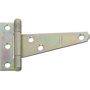 National Hardware  3 in. L Zinc-Plated  Light T-Hinge  2 pk