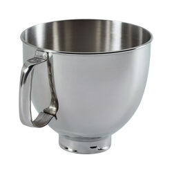 KitchenAid  5  Stainless Steel  Stand Mixer Mixing Bowl